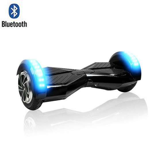 8 Lamborghini Hoverboard With Bluetooth - Smart Balance Wheel (BLACK)