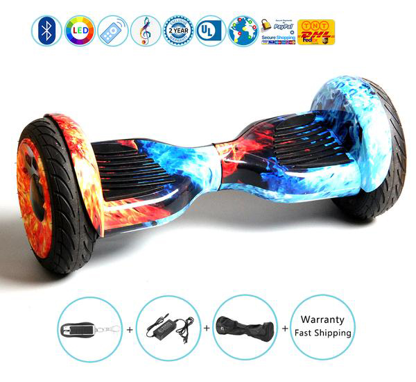 "2018 New 10"" Rover All Terrain Hoverboard for Off Road Ridding"