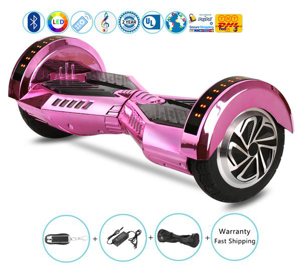 New and Cool Hoverboard with Bluetooth+Lights+Remote