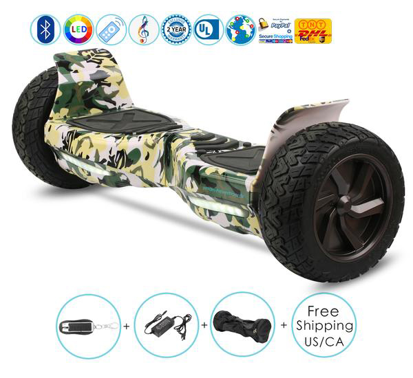 Buy All Terrain Hoverboard for Australia, UK, USA, Canada, Designed for Riding Off Road