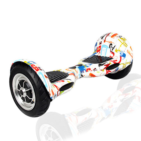 10 GRAFFITI Hoverboard - Smart Balance Wheel ( WHITE)