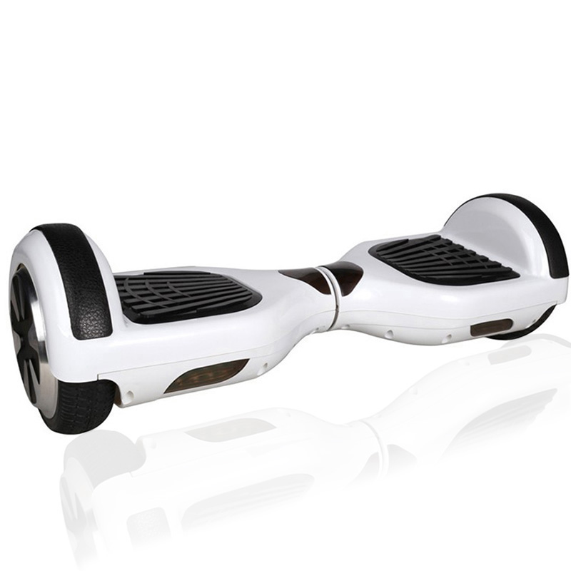 6.5 Rubber Hoverboard - Smart Balance Wheel (WHITE)