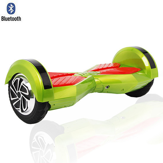 8 Lamborghini Hoverboard With Bluetooth - Smart Balance Wheel (GREEN)