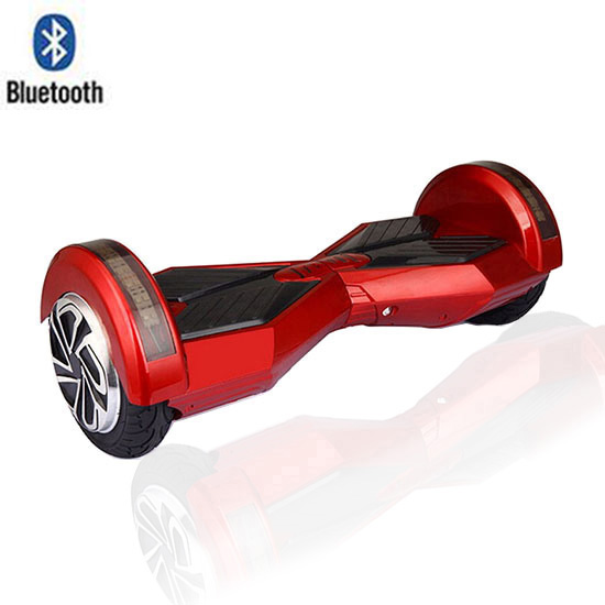 8 Lamborghini Hoverboard With Bluetooth - Smart Balance Wheel (RED)
