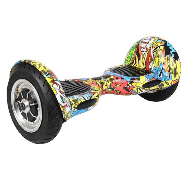 Hip Hop Hoverboard with 10 Inch Wheel Free Shipping in USA