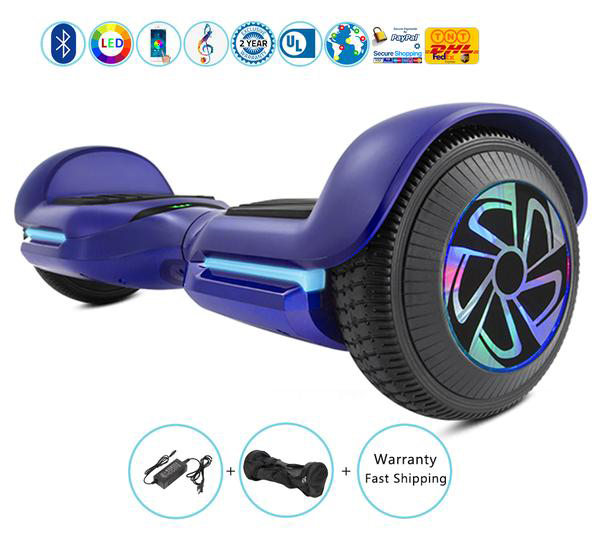 6.5 Inch New Smart Balance Wheel with Bluetooth Speakers + Led Lights + App