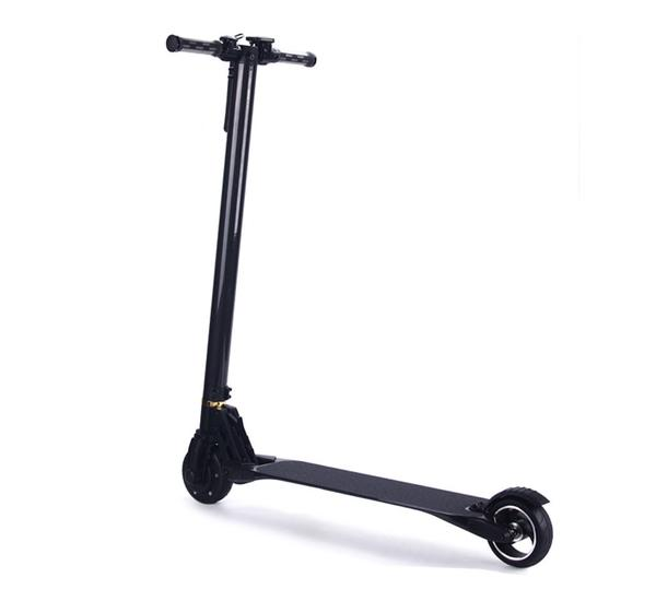 THE LIGHTEST 2 WHEEL FOLDABLE CARBON FIBER ELECTRIC SCOOTER