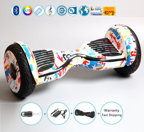 New 10 Inch Rover All Terrain Hoverboard for Off Road Ridding (Stary Pink)